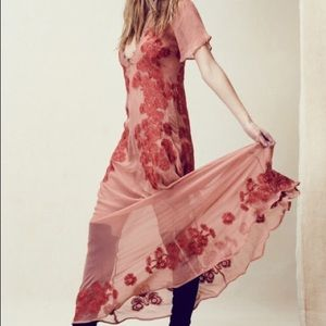 NWT For Love and Lemons Sicily Maxi Dress